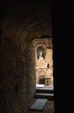 Detalhe de Roman Theater da laranja Foto de Stock