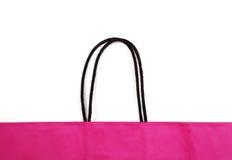Detalhe de saco de compras. Fotos de Stock Royalty Free