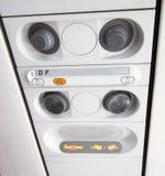 Detalhe de salão de beleza interior airplan Fotos de Stock