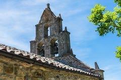 Detalhe de sino de igreja abandonado imagens de stock royalty free
