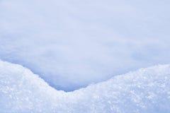 Detalhe de snowdrift - textura da neve fotos de stock royalty free