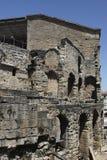 Detalhe de teatro antigo da laranja Fotografia de Stock