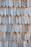 Detalhe de telha de madeira Fotografia de Stock Royalty Free