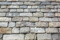 Detalhe de telhas da rocha Fotos de Stock Royalty Free