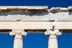 Detalhe de templo antigo Fotos de Stock Royalty Free