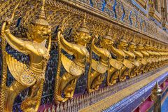 Detalhe de templo budista Imagens de Stock Royalty Free