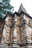 Detalhe de templo da redação em Chiangmai fotografia de stock royalty free