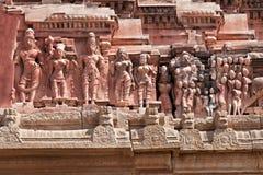 Detalhe de templo de Krishna fotografia de stock royalty free
