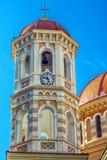 Detalhe de templo ortodoxo metropolitano de Saint Gregory Palamas fotografia de stock