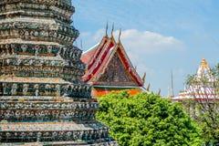 Detalhe de templo tailandês Fotos de Stock