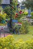 Detalhe de terraço holandês típico do verão Fotos de Stock