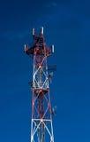 Detalhe de torre do telecommunicatiopn Fotos de Stock