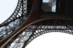 Detalhe de torre Eiffel da parte inferior Fotos de Stock