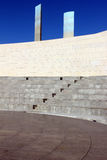 Detalhe de um Amphitheater em Lisboa, Portugal Fotografia de Stock Royalty Free