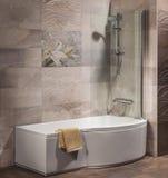 Detalhe de um banheiro moderno Foto de Stock