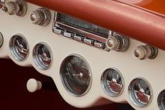 Detalhe de um carro clássico Fotos de Stock Royalty Free