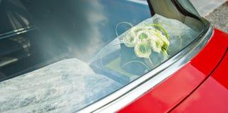 Detalhe de um carro do casamento Imagem de Stock