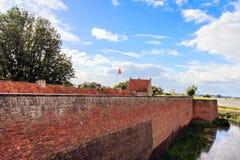 Detalhe de um castelo Imagens de Stock
