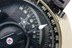 Detalhe de um compasso Fotos de Stock