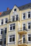 Detalhe de um condomínio de Art Nouveau Foto de Stock