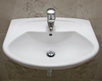 Detalhe de um dispositivo do banheiro Imagens de Stock