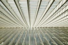 Detalhe de um edifício moderno imagens de stock royalty free