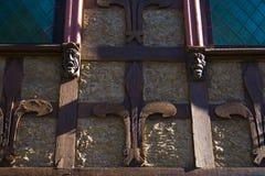 Detalhe de um edifício velho Fotografia de Stock Royalty Free