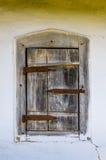Detalhe de um indicador de uma casa antiga ucraniana típica imagens de stock royalty free