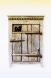Detalhe de um indicador de uma casa antiga ucraniana típica fotos de stock royalty free