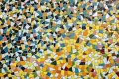 Detalhe de um mosaico de vidro colorido Fotografia de Stock Royalty Free