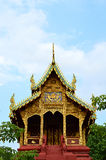 Detalhe de um telhado do monastério budista no templo budista, Tailândia Foto de Stock