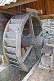 Detalhe de um watermill Fotografia de Stock Royalty Free