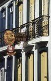 Detalhe de uma casa em Ouro Preto, Brasil Fotos de Stock Royalty Free