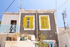 Casa em Samos Fotos de Stock Royalty Free