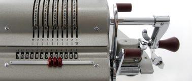Detalhe de uma máquina calculadora velha Fotos de Stock