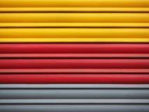 Detalhe de uma porta metálica Imagem de Stock