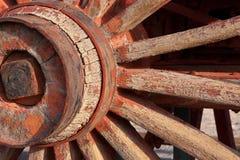 Detalhe de uma roda de vagão Imagem de Stock Royalty Free