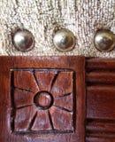 Detalhe de Upholstery Fotos de Stock