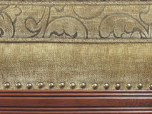 Detalhe de Upholstery foto de stock