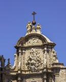 Detalhe de Valencia Basilica imagem de stock