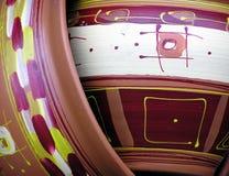 Detalhe de vaso Fotografia de Stock