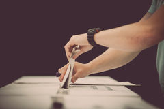Detalhe de votação da mão Fotografia de Stock Royalty Free