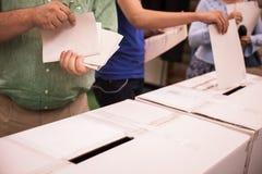 Detalhe de votação da mão Imagens de Stock Royalty Free