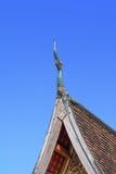 Detalhe decorativo do telhado Foto de Stock