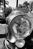 detalhe dianteiro do tdf de ferrari 250 dos anos 50 Foto de Stock