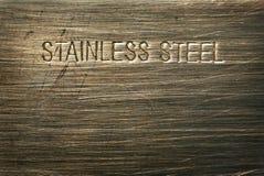 Detalhe do aço inoxidável Imagem de Stock Royalty Free