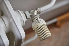 Detalhe do aquecimento do radiador Imagem de Stock Royalty Free