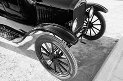 Detalhe do automóvel do modelo T imagens de stock