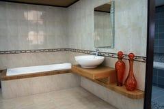 Detalhe do banheiro Foto de Stock Royalty Free