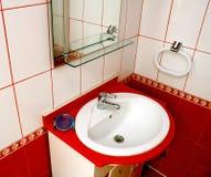 detalhe do banheiro imagens de stock